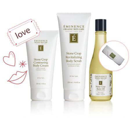 Eminence Valentines Day Massage Kit