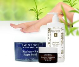 3 Steps to Love Your Feet With Eminence Organics Skin Care Products