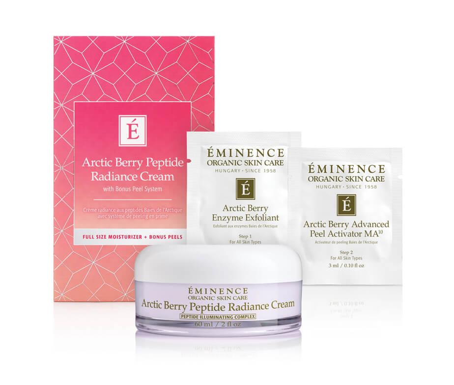 Eminence Organics Arctic Berry Peptide Radiance Cream Gift Set