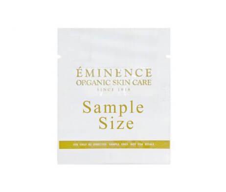 Eminence Organics Product Sample Size