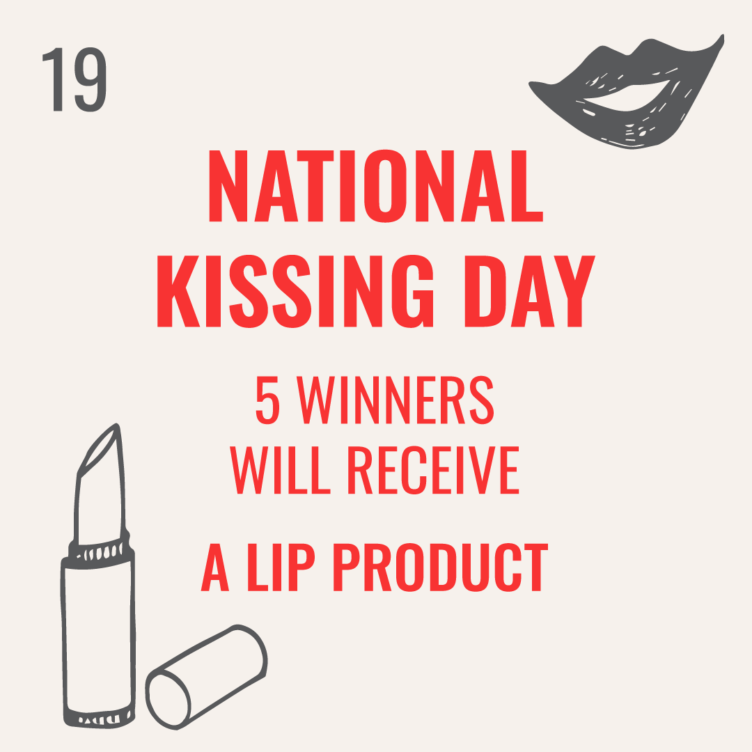 National Kissing Day