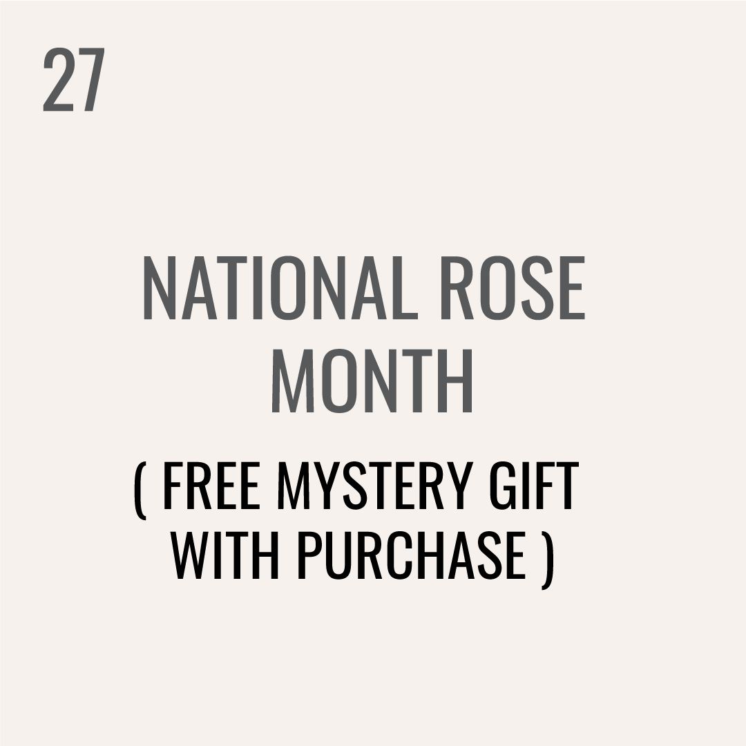 National Rose Month